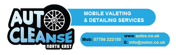 Auto Cleanse North East Logo - The ultimate mobile valeting and detailing service in Barnard Castle, County Durham